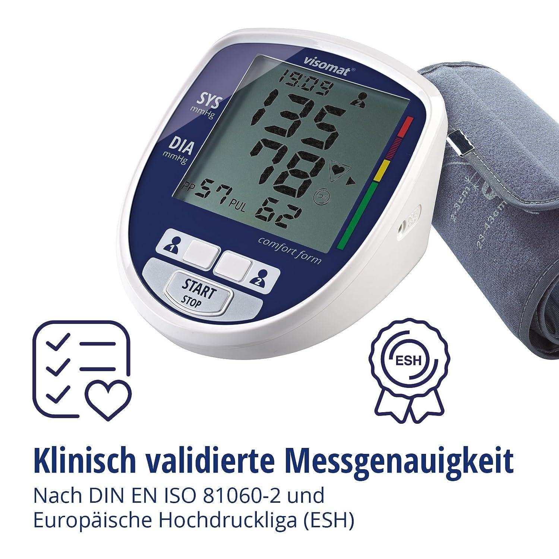 visomat 24035 comfort form - Tensiómetro de brazo: Amazon.es: Salud y cuidado personal