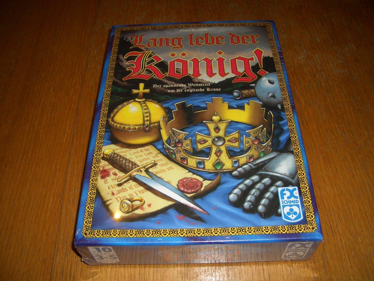 Ravensburger Spiel 272037 - Lang lebe der König