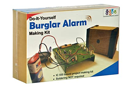 Buy do it yourself burglar alarm making educational learning toy kit do it yourself burglar alarm making educational learning toy kit solutioingenieria Images