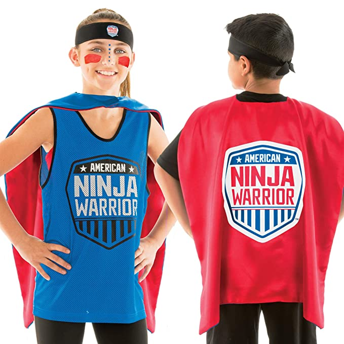 American Ninja Warrior Costume Set - Deluxe Version ...