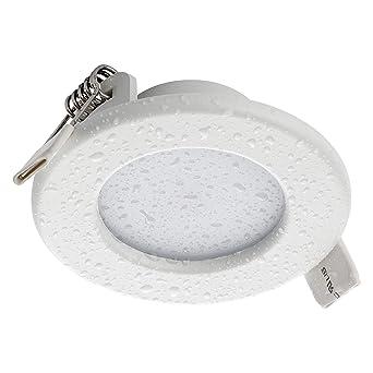 SEBSON® Spot LED encastrable Salle de Bain IP44, rond, 5W, blanc ...