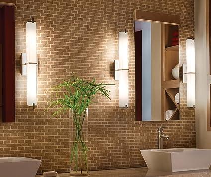 Cloudy Bay LED Bathroom Vanity Light, 24 inch 3000K Warm White, 20W ...