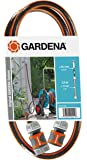 """Gardena 18040-20 Anschlussgarnitur Comfort FLEX 1/2"""", Schlauchadapter mit Schnellkupplungen, mit Hahnstück (Schlauchlänge 1,5m, Schlauchdurchmesser: 13mm ½"""", Berstdruck 25 bar)"""