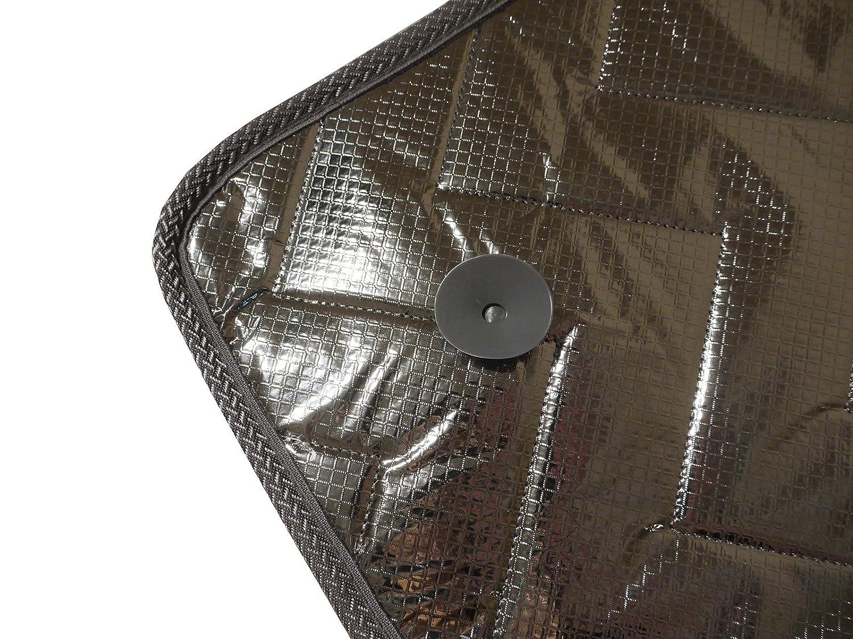 Van Demon Thermal Screen Internal Blind 2 Piece Cover Set for Twin Rear Doors Windows