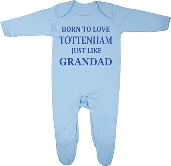 Baby Boy Girl Sleepsuits Designed and Printed in the UK Using 100/% Fine Combed Cotton
