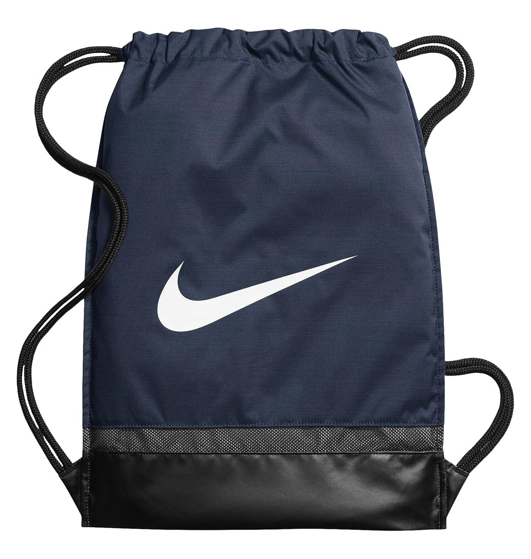 Nike Nk Brsla Gmsk Bolsa de Cuerdas, Hombre, Azul (Midnight Navy/Black/White), Talla Única: Amazon.es: Deportes y aire libre