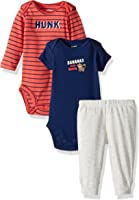 """Carter's Baby Boys' 3 Piece""""Take Me Away""""Set (Baby) - Awesome Lil Dude"""