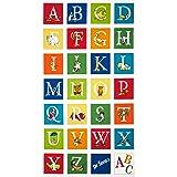 Amazoncom Hungry Animal Alphabet Panel Cotton Fabric Quilting