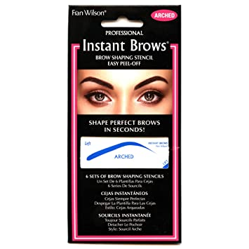 Amazon.com : Fran Wilson Instant Brows Brow Shaping Stencil (ARCHED) : Beauty