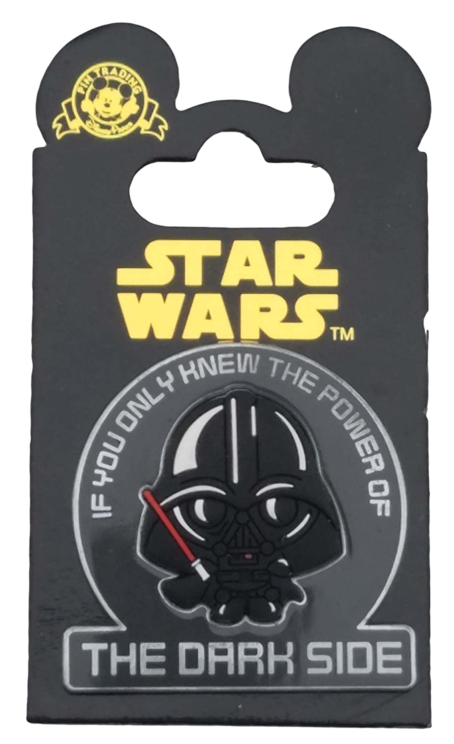 Disney Pin - Star Wars Cuties - Darth Vader The Dark Side