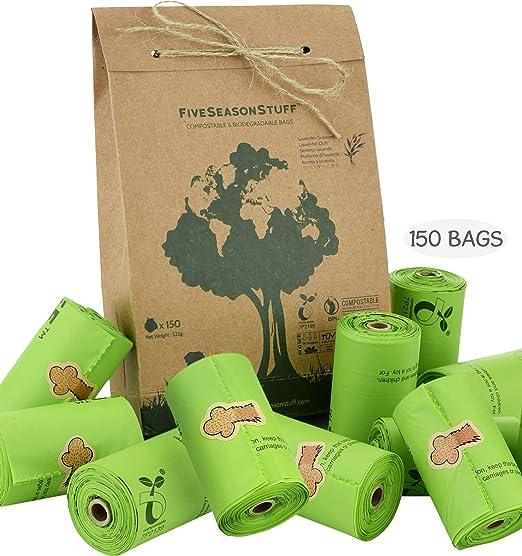 FiveSeasonStuff bolsas biodegradables para perros cero residuos ...