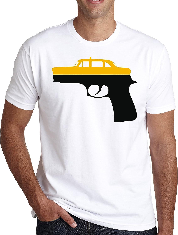 MaikesTic Taxi Driver Graphic Glock – Design Men s – Camiseta ...