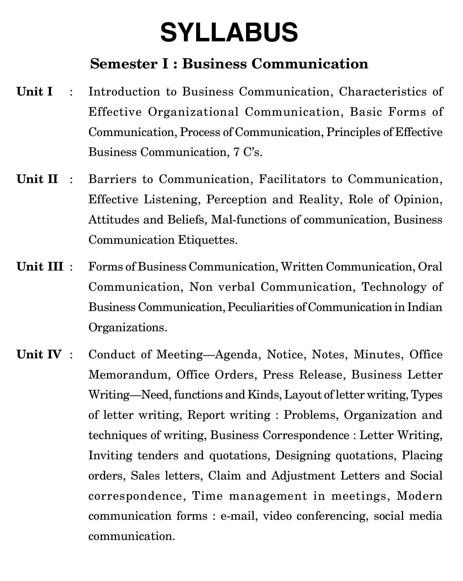 Buy Business Communication For B Com Sem I Of Lucknow University