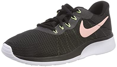 new product 237e9 3d362 Nike Damen Sneaker Tanjun Racer Laufschuhe Mehrfarbig (Black/Storm  Pink/Anthracite/Barely