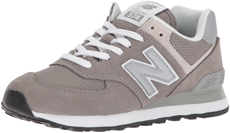 New Balance Women's Iconic 574 Sneaker B0723CMNF2 10 D US|Grey