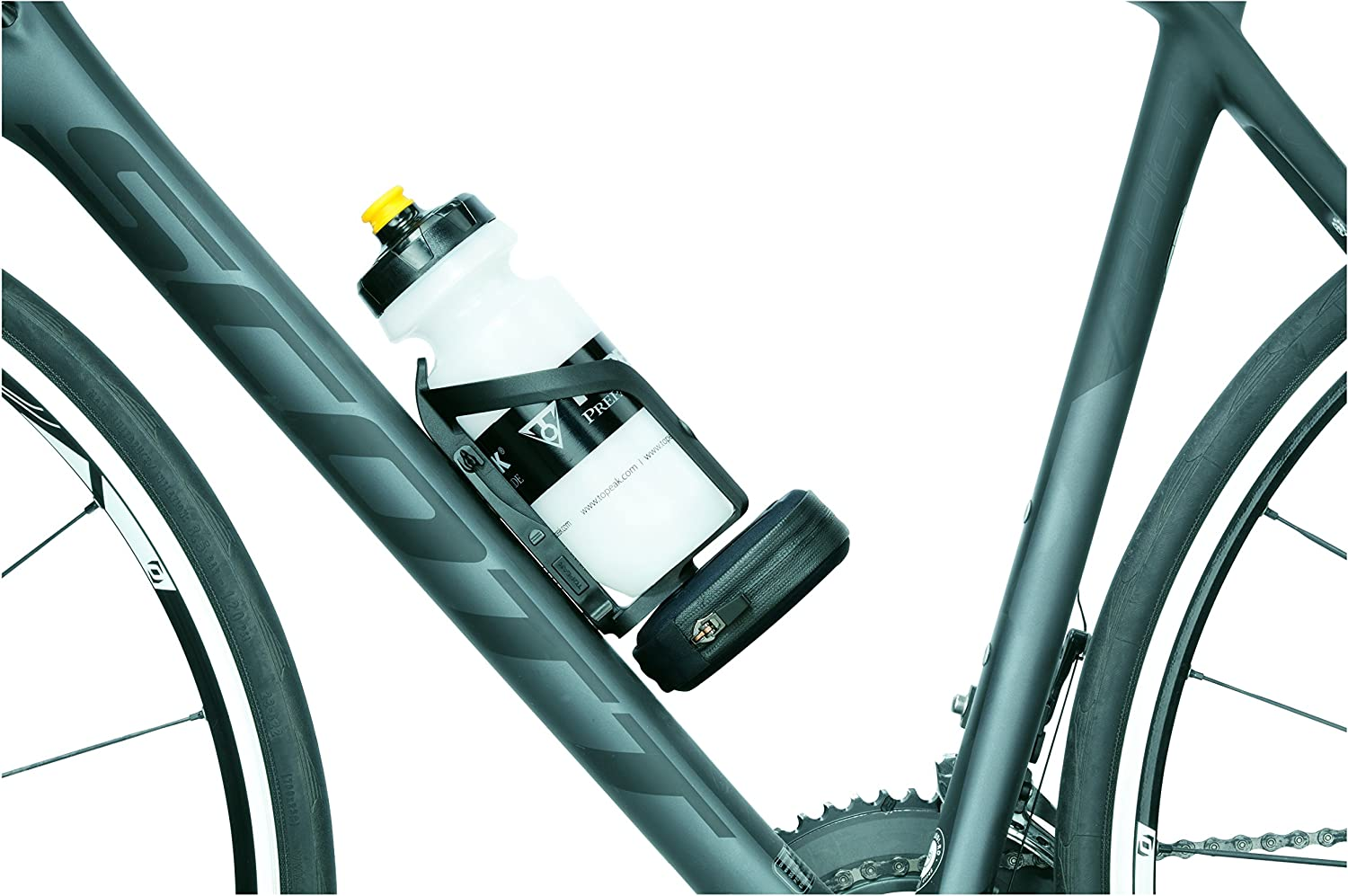 Topeak Ninja Pouch Plus Road Ninja Cage Plus with Road Spare Tube Pouch
