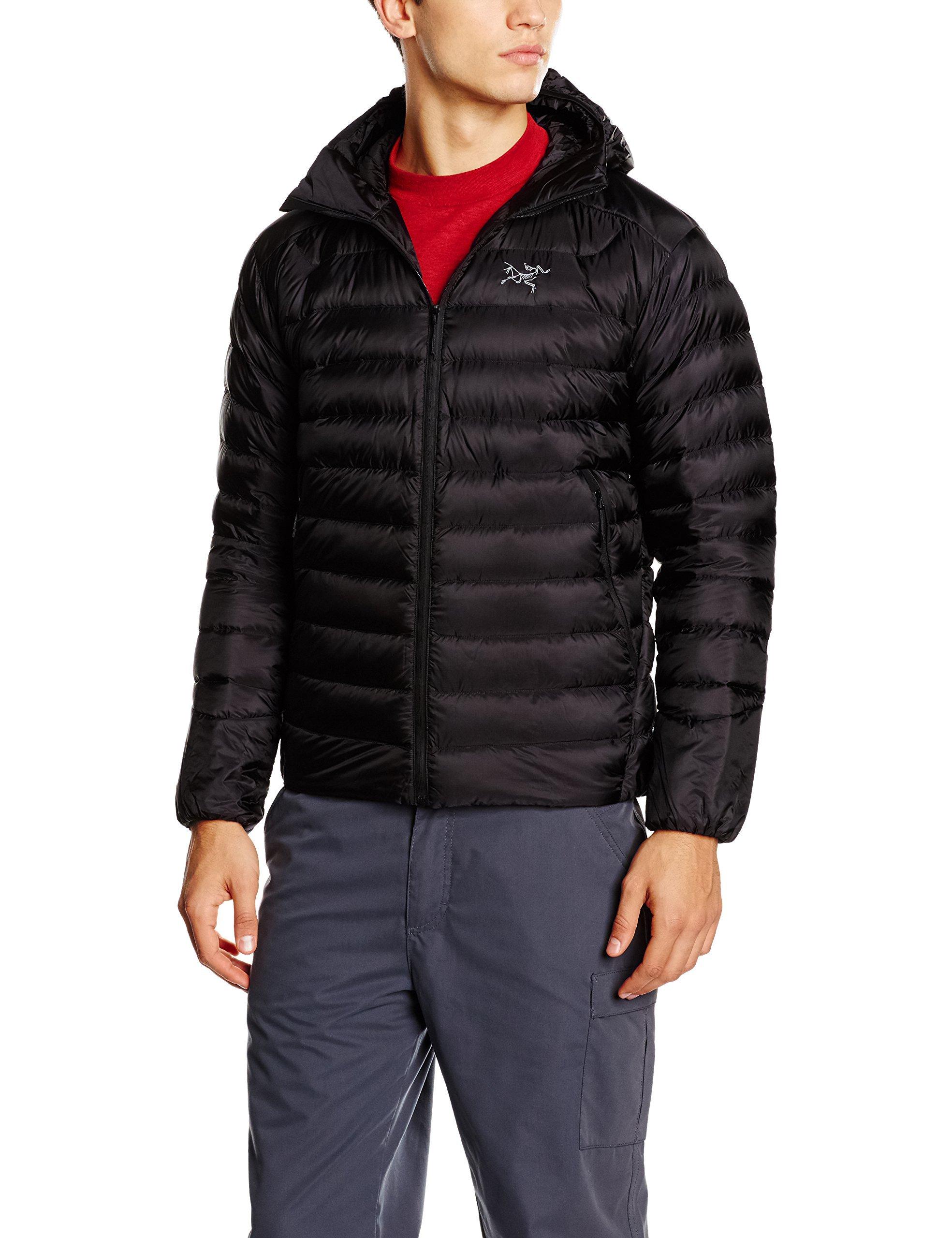 Arc'Teryx Men's Cerium LT Hooded Jacket, Black, Large