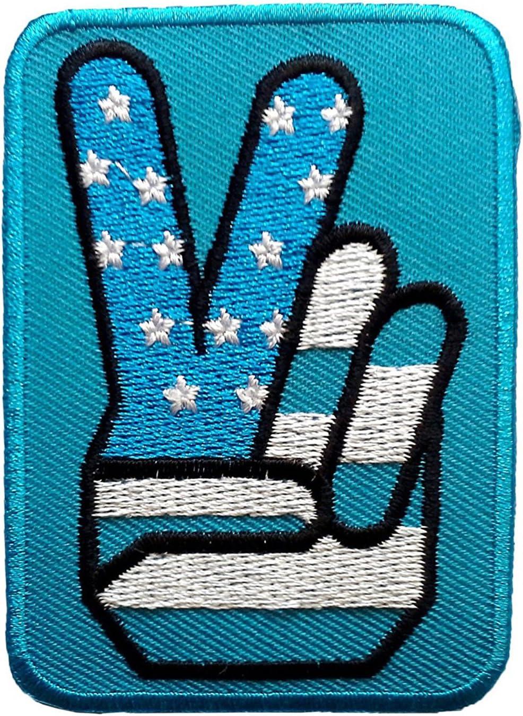 Estados Unidos Victoria Paz azul parche Badge bordado hierro o ...