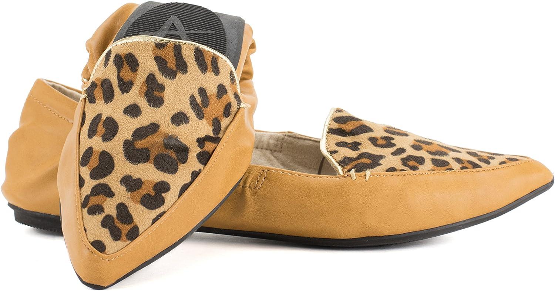 AVANTI Piper Foldable Ballet Flats Travel Shoes