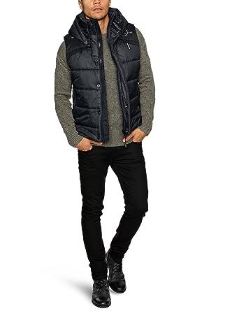 a61a46599d9e8 Amazon.com: G-Star Raw Men's Whistler Hooded Vest, Black, XXL-Large ...