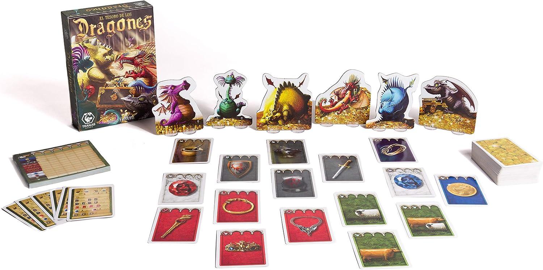 Tranjis Games - El tesoro de los Dragones - Juego de mesa (TRG-015dra): Amazon.es: Juguetes y juegos
