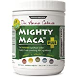 Mighty Maca Plus - Delicious, All-Natural, Organic Maca Superfoods Greens Drink, Allergen & Gluten Free, Vegan, Powder