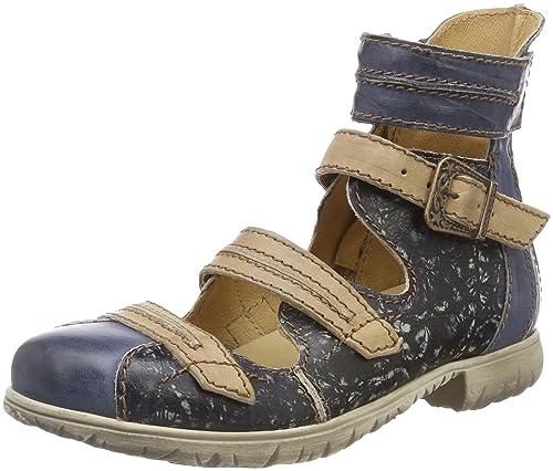 Rovers Botines para Mujer, Azul (Blau Jeans/Beige), 42 EU: Amazon.es: Zapatos y complementos