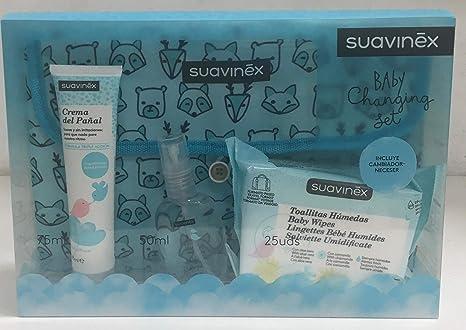 Baby Changing Set Crema Pañal, Toallitas, Colonia 50 ml, Cambiador