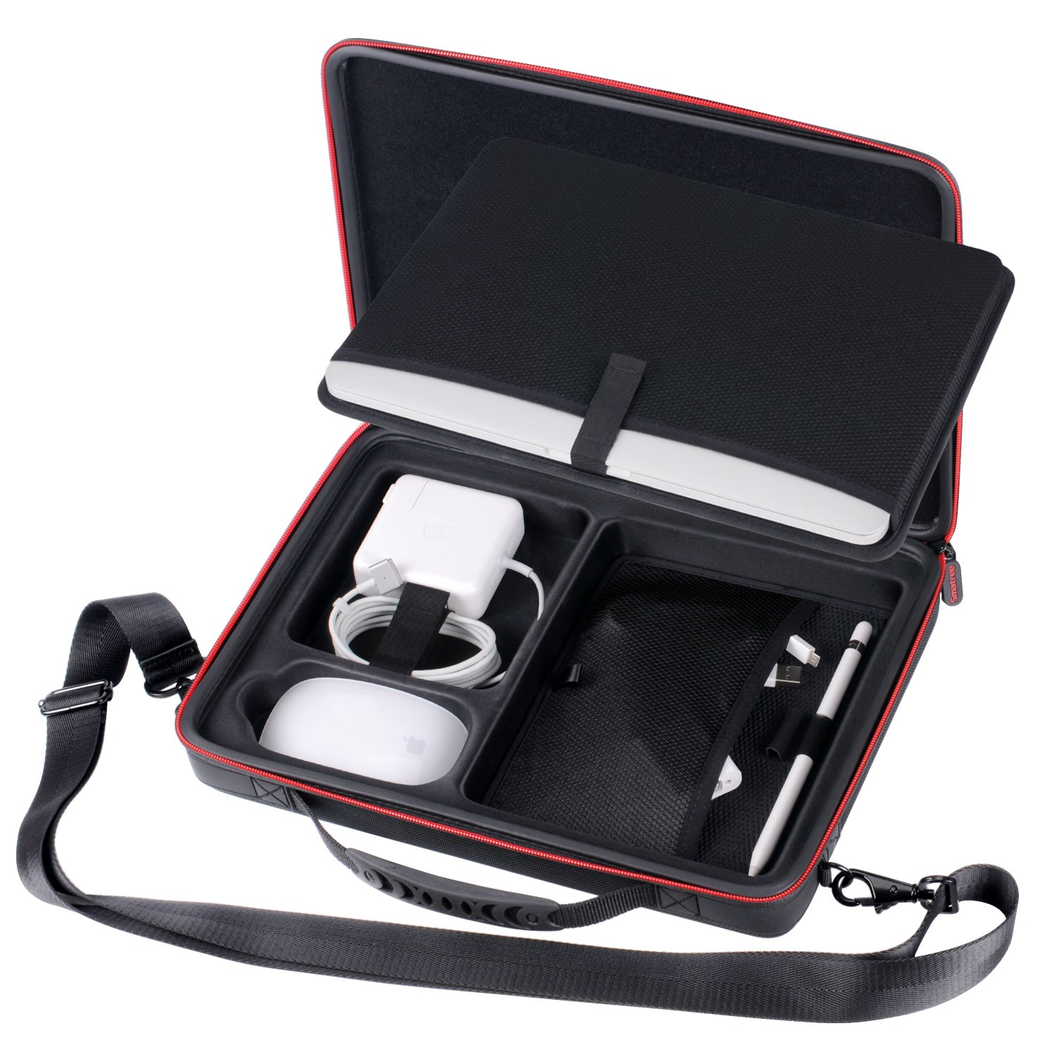 Smatree Carry Case for 12-13.3 inch MacBook Laptop (Black) by Smatree