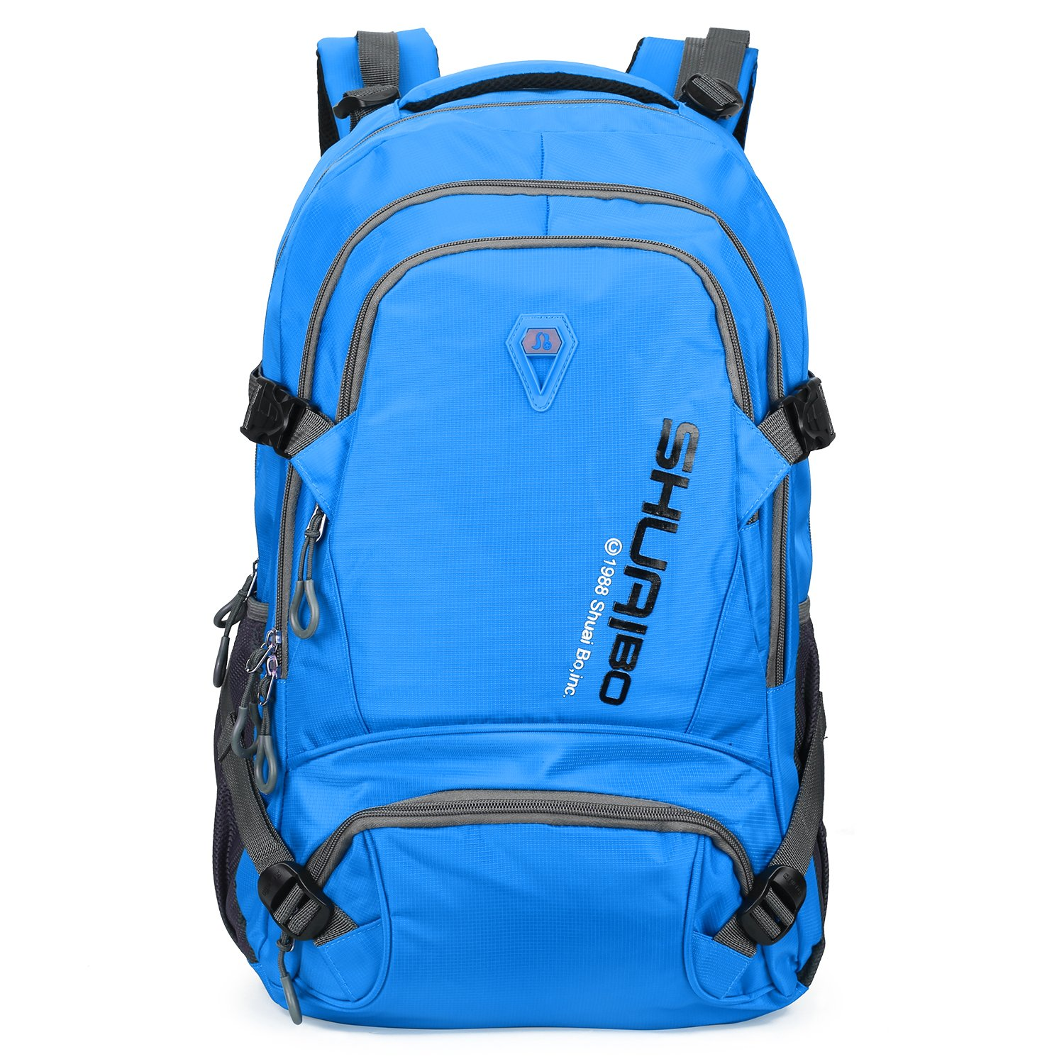Hiking Backpack Mountaintop 32L Waterproof Durable Travel Backpack Men and Women for Hiking, Camping, Cycling, Biking, Climbing, Hunting, and Outdoor Activities