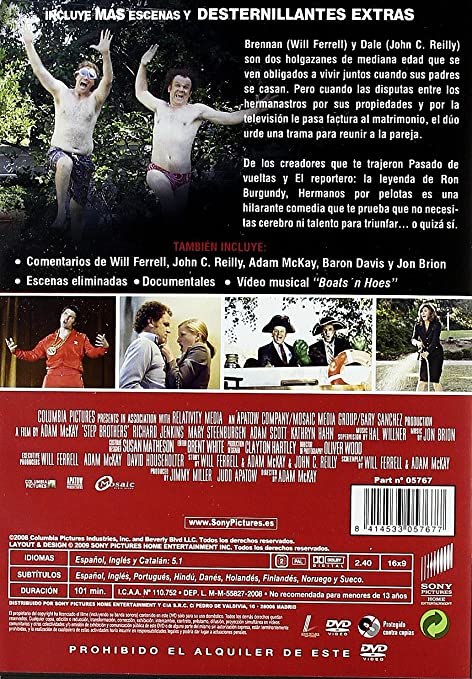 Hermanos por pelotas [DVD]: Amazon.es: Will Ferrell, Richard ...