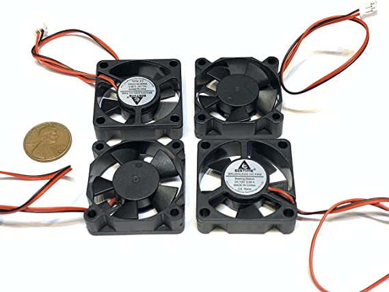 2 Piece 3510 Gdstime 5V 2pin 35x35x10mm DC Cooling Fan 35mm brushless C9
