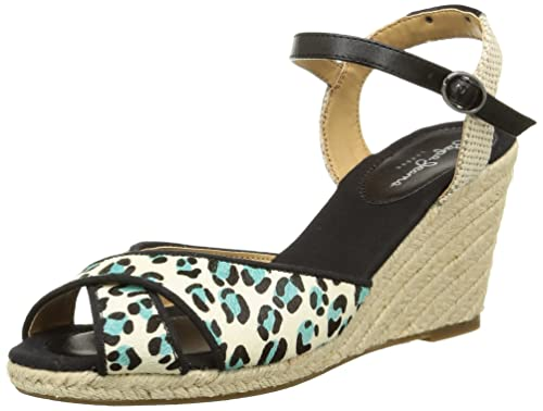 Sandalias de Cuña Shark Pony Marrón EU 40 Pepe Jeans London cItI1O