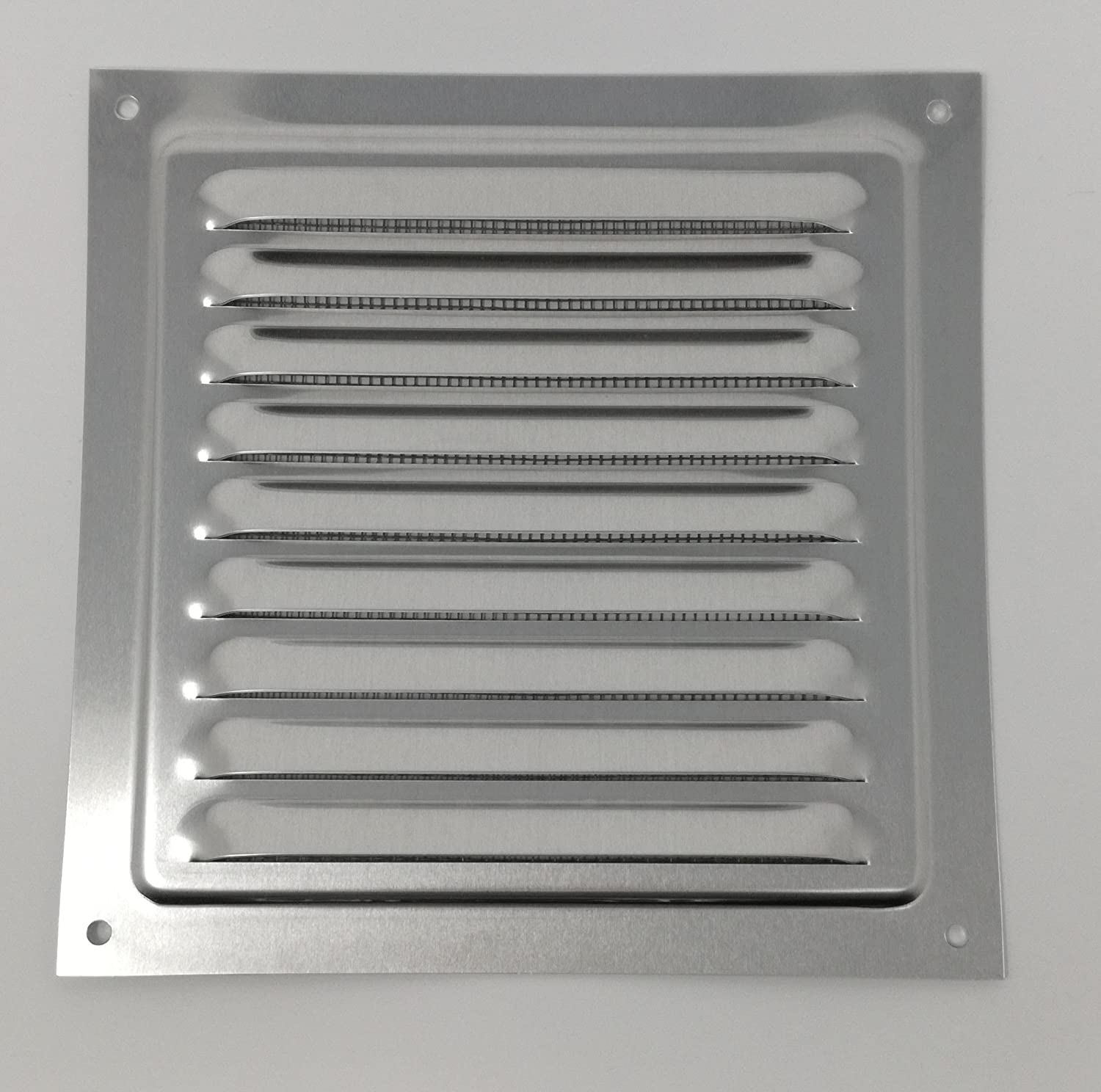 Aluminium Rust Free with Mosquito 150 x 150 mm Grill Air Vent Metal Bug Net