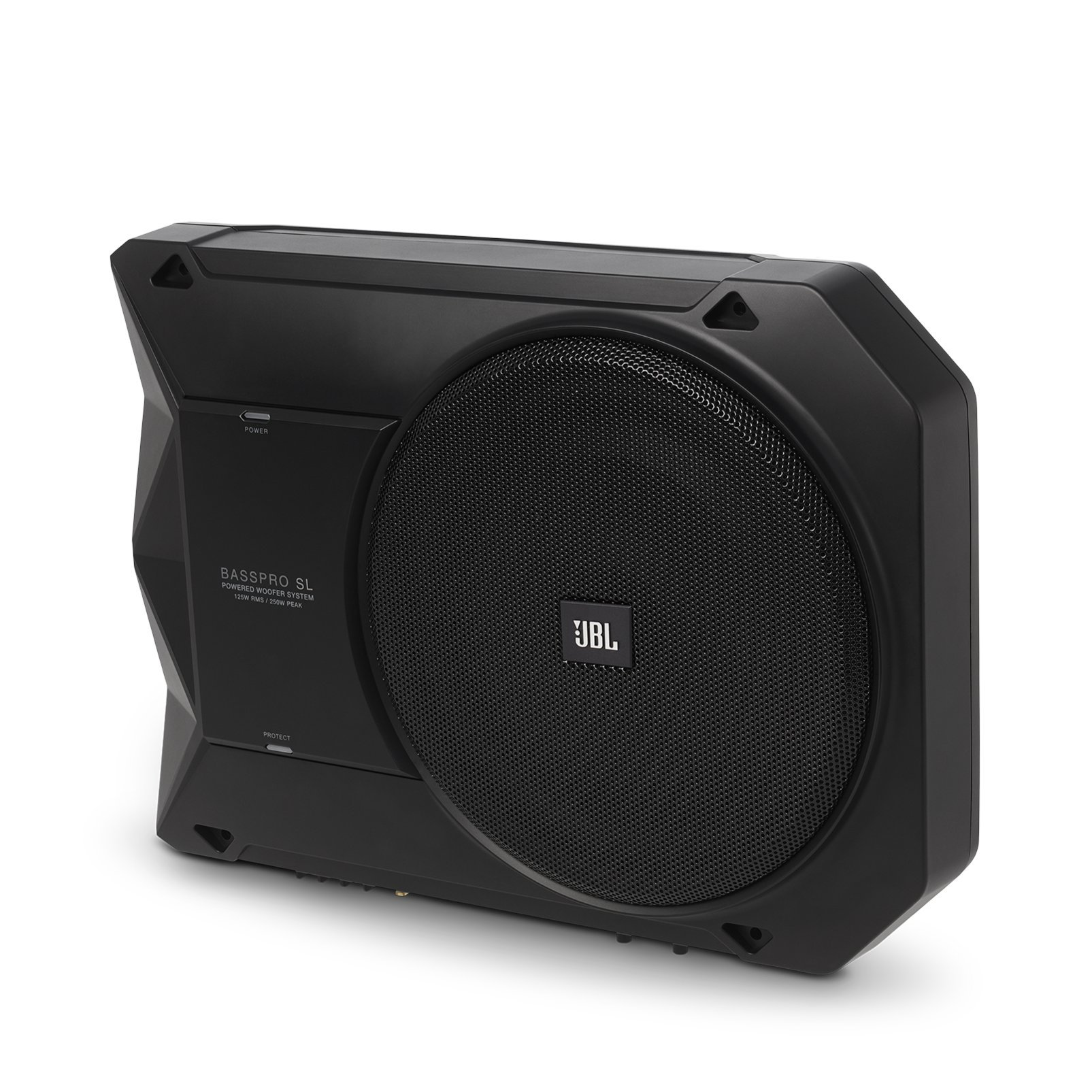 BassPro SL - JBL 8'' 125W RMS Powered Under-Seat Compact Subwoofer Enclosure System by JBL