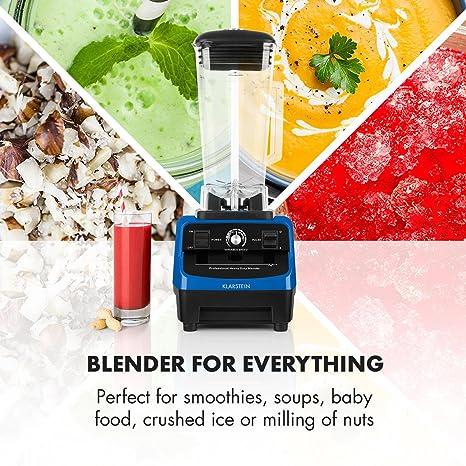 Klarstein Herakles 3G - Batidora de vaso , Batidora americana , Licuadora Smoothie Maker , 1500 W , Libre de BPA , 40.000 Revoluciones por minuto , 2 ...