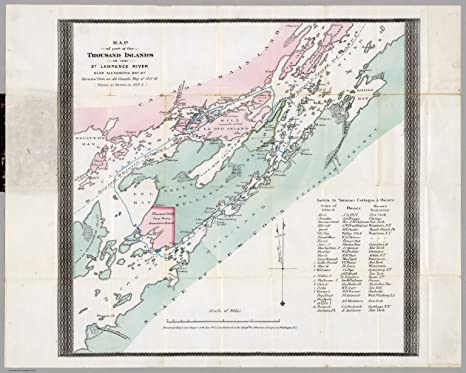 Amazon.com: VintPrint Map Poster - Map of Part of The ...