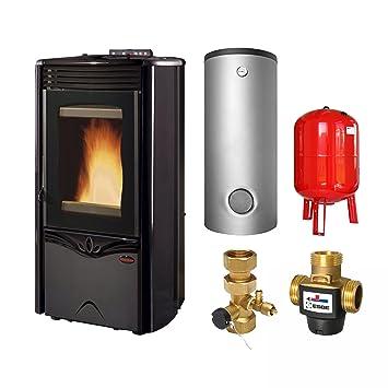 Extra Flame KomplettDuchessaIdroSteelA pellet estufa de agua crear enchufe de SA Idro Steel Anth, completamente-Set: Amazon.es: Bricolaje y herramientas