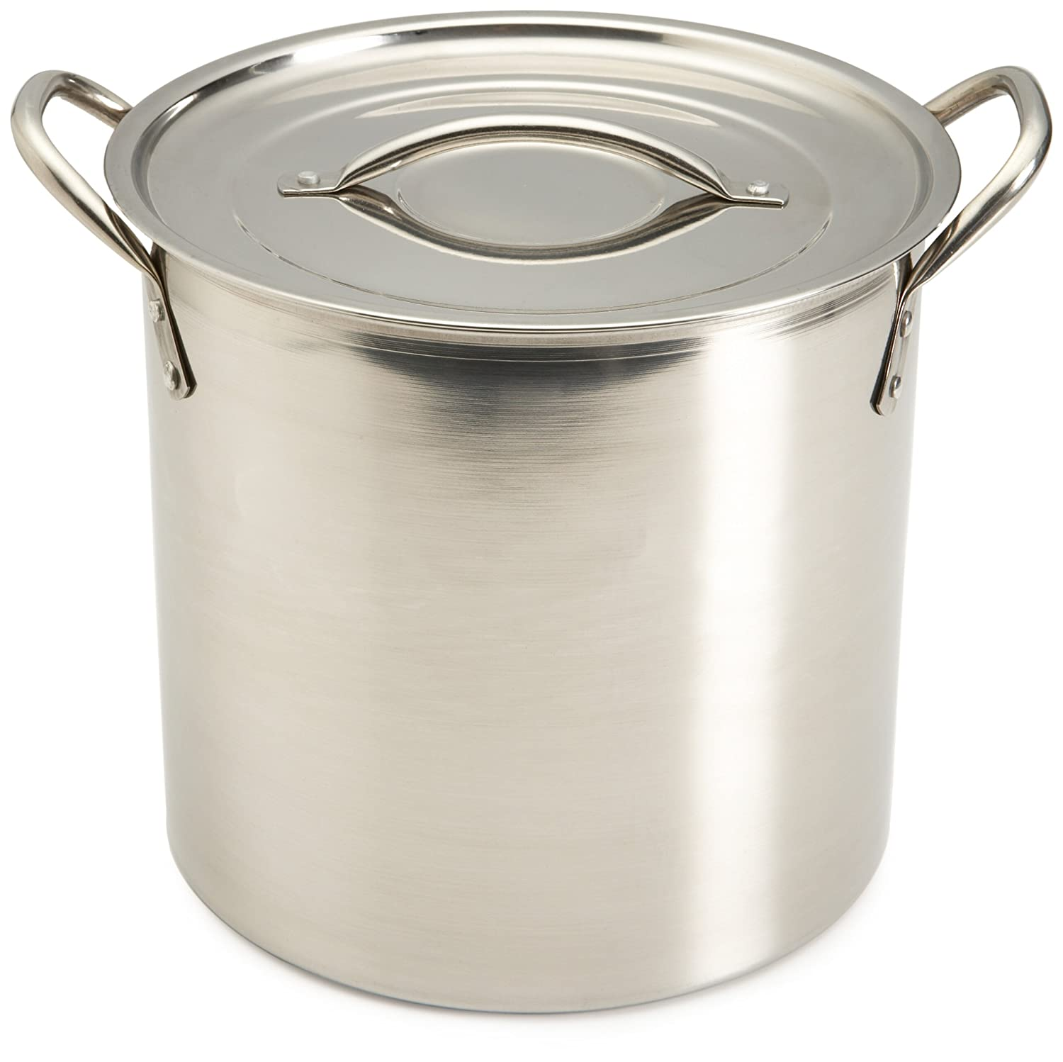 Amazon Good Cook 8 Quart Covered Stainless Steel Stock Pot Kitchen Dining