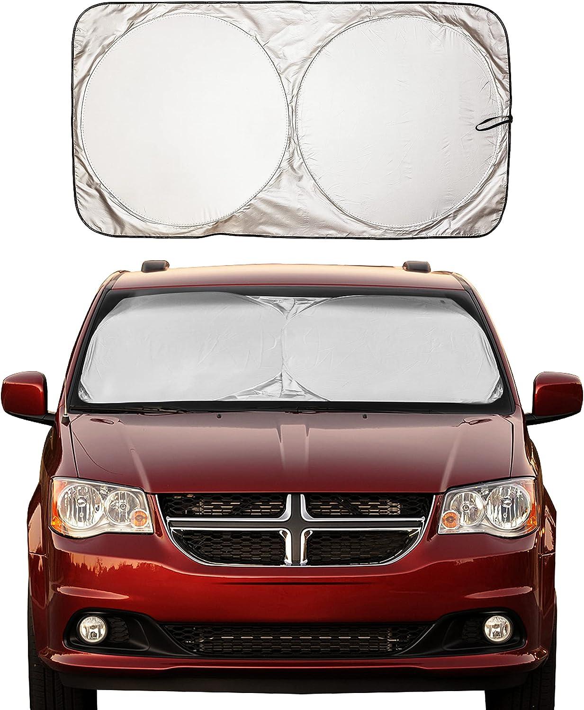 E6AA 140x70cm Auto Sun Visor Windshield Cover Cover Windshield Car Car SunShade