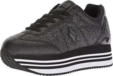 Highrise-Glitter T Toe Sneaker