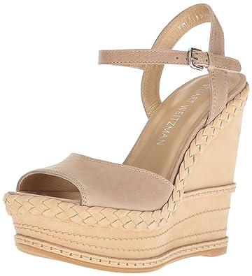 af255b5c58004 Amazon.com  Stuart Weitzman Women s Clean Wedge Sandal  Shoes