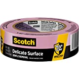 Scotch Delicate Surface Painter's Tape, 2080, 1.41 in x 60 yd, 1 Roll