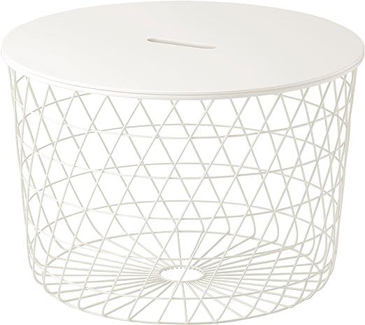 Zigzag Trading Ltd IKEA KVISTBRO - Mesa de almacenaje Blanco ...