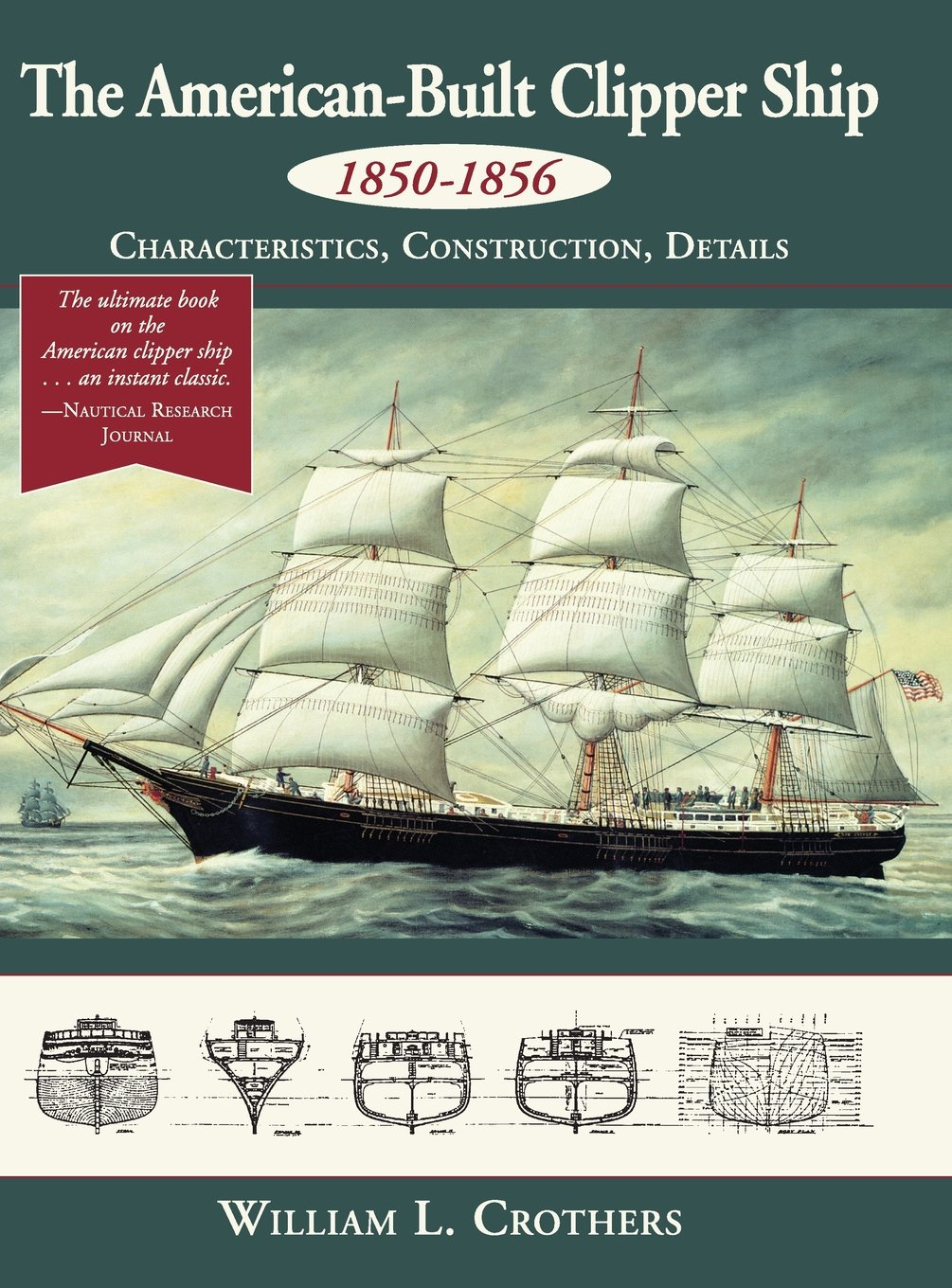 The American Built Clipper Ship 1850 1856 Characteristics Sailing Diagram Tall Ships Pinterest Construction And Details William L Crothers 9781626543393 Books