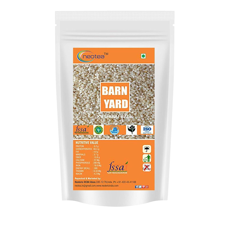 Neotea Barnyard Millet (Kuthiraivali): Amazon.com: Grocery ...