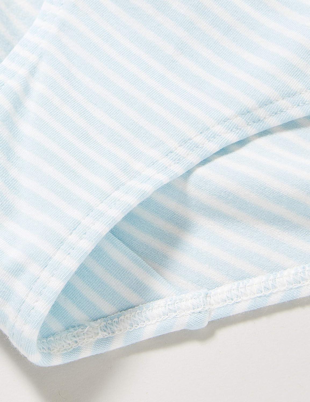 Sanetta M/ädchen Rioslip Heaven M/ädchenhafter Rio-Slip im himmelblauen Ringel-Design und mit feinen Details