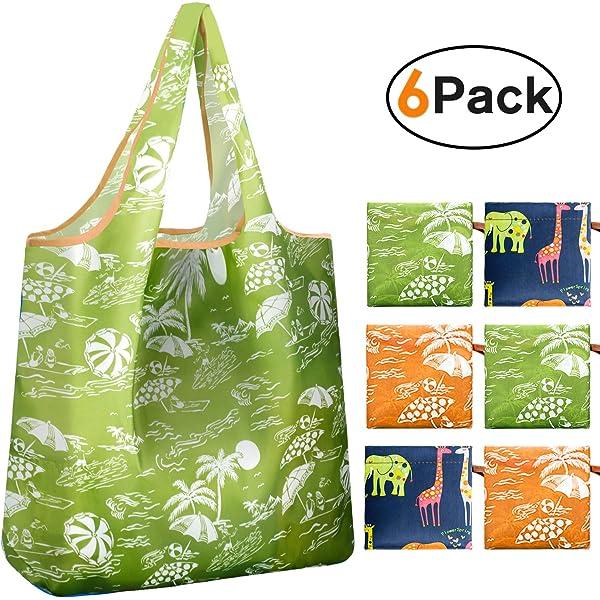 Amazon.com: kiwipi Jirafa Tema compra reutilizable/wallet ...