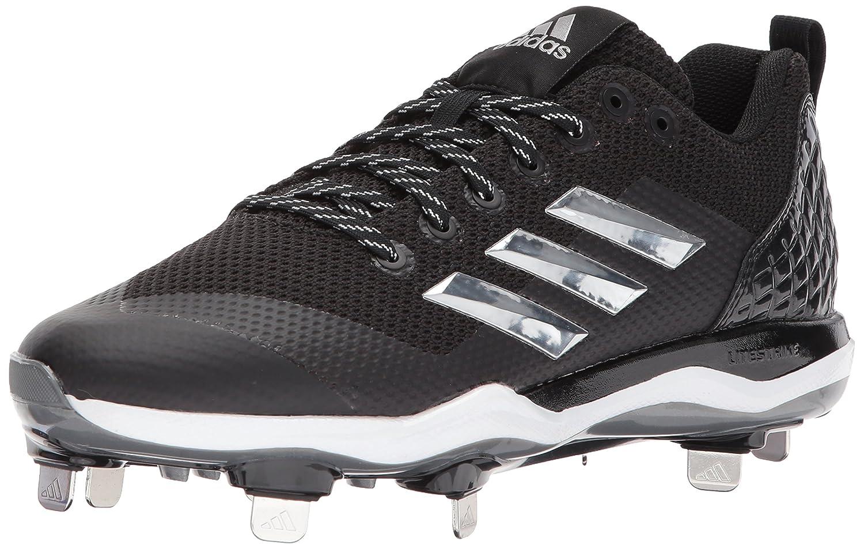 adidas Men's Freak X Carbon Mid Softball Shoe B01MU2W50F 9.5 D(M) US|Black/Metallic Silver/White