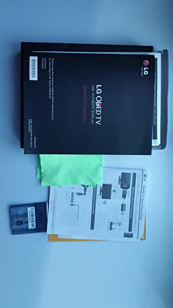 LG 55EC9300 77ec9800 Owners Manual Kit afn76115032: Amazon.es ...